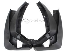High Quality 4PCS Black Soft Plastic Fenders Mudguards For Renault Koleos 2008-2014 2013