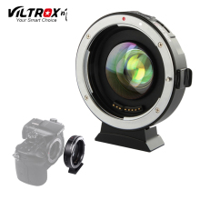 VILTROX EF-M2 AF Auto-focus EXIF 0.71X Reduce Speed Booster Lens Adapter for Canon EF mount series lens to M43 Camera GH4 GH5