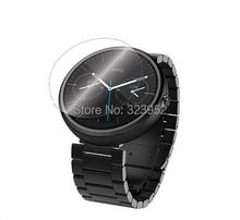 For Motorola Moto 360 Smartwatch Clear Screen Protector 500pcs lot Free Shipping