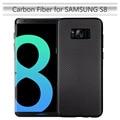Para cubierta samsung galaxy s8 s8 teléfono más móvil case ultra thin carbon fiber soft tpu contraportada casos para samsung s8