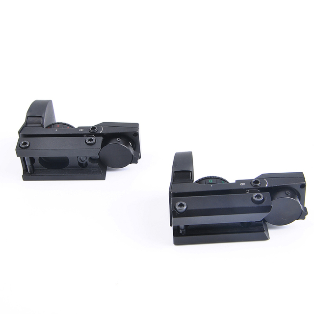 11mm/20mm Rail Riflescope Hunting Optics Holographic Sight Red Dot Sight Reflex 4 Reticle Tactical Scopes Collimator Sight