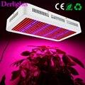 Espectro completo 600 W LED crecen la luz rojo + azul + blanco + + IR AC85 ~ 265 V SMD5730 Led lámparas para la Planta de floración vegetal