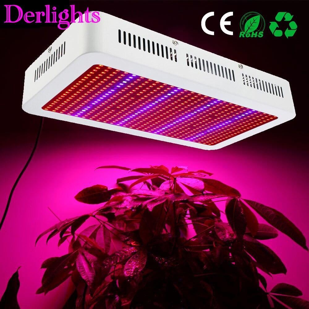 Full Spectrum 600W LED Grow Light Red+Blue+White+UV+IR AC85~265V SMD5730 Led Grow Lamps For Plant Flowering Vegetable