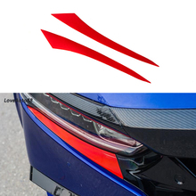 2pcs ABS Chorme Car Headlight Eyebrow Cover Trim Sticker Head Lamp Eyelid For Honda Accord 10th 2018 2019 Accessories