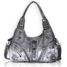 Angel Barcelo Handbags for Women Gray Single Shoulder Crossbody Bags Casual Totes AK11282Z