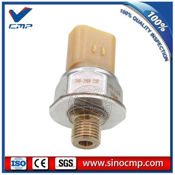 248 2169 Excavator Oil Diesel Common Rail Pressure Sensor sensor sensor sensor pressure sensor oil pressure - title=