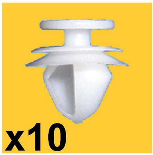 PEUGEOT DOOR PANEL TRIM CLIPS X10
