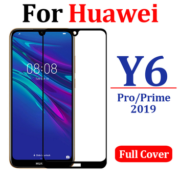 protective glass for huawei y6 pro 2019 armor huawey y 6 prime screen protector hawei y6pro display huawie y6prime tempered temp image