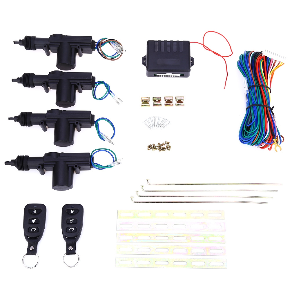 L240 Universal Car DC 12V 2 Wire Heavy Duty Power Door Lock Actuator Auto  Locking System Motor With Hardware-in Burglar Alarm from Automobiles &  Motorcycles ...