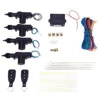 T240 Universal Car DC 12V 2 4 Doors Wire Heavy Duty Power Door Lock Actuator Auto