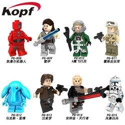 Building Blocks Single Sale Rey A Wing Pilot Hoth Rebel Max Rebo Han Solo  Kessel Anakin Skywalker Toys Children Gift PG8145 33d30eb49711