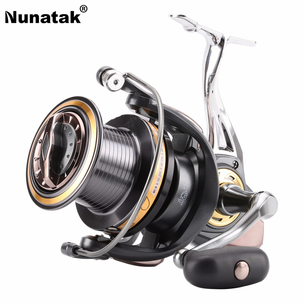 Nunatak New Fishing Reel TYC8000 10000 12000 Spinning Reels 4.0:1/12+1BB 780g Professional Fishing Reel Sea Trolling professional spinning fishing reel