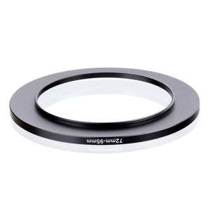 Image 2 - original RISE(UK) 72mm 95mm 72 95mm 72 to 95 Step Up Ring Filter Adapter black