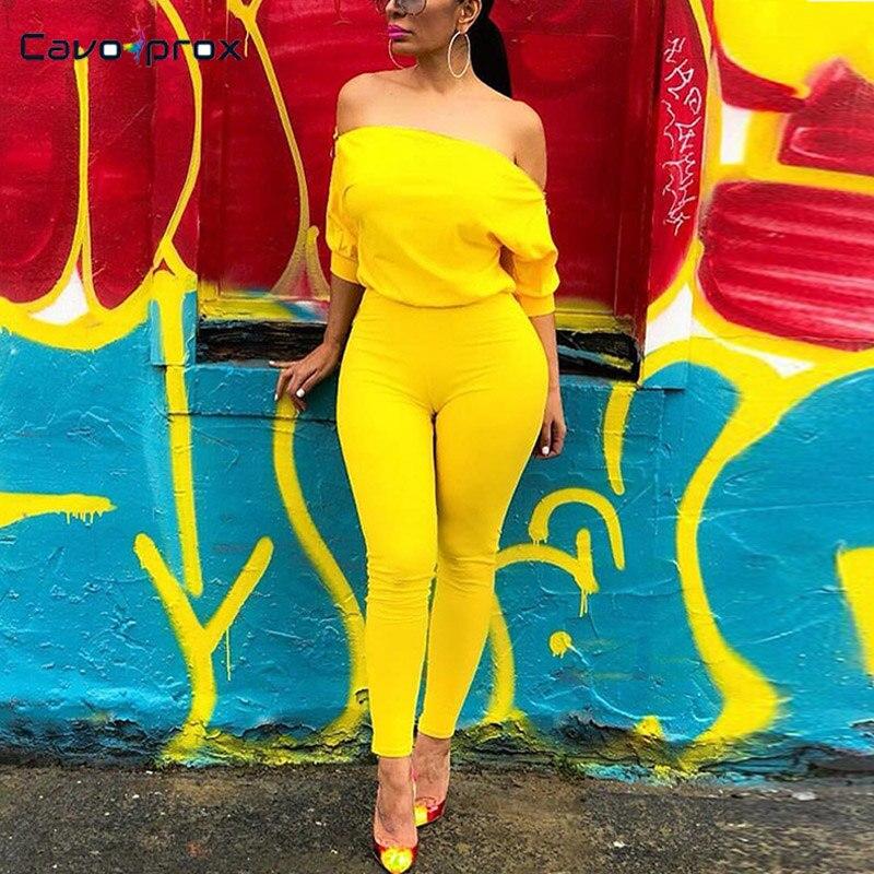 Women Off Shoulder Zipper Design Short Sleeve Skinny Bodycon   Jumpsuits   Casual Solid Slim Fit Streetwear Rave Festival Clothing