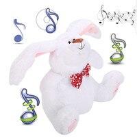 Rabbit Plush Toy Singing Music Stuffed Animal Toy Doll Holiday Christmas Gift maynkraft unicorn plush Toys for children Baby B2