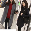 2017 Women's Wool Coat And Top Color Stereo Leisure Leisure Loose All-match Sweet Temperament OL Style Slender Wool Coat Jacket