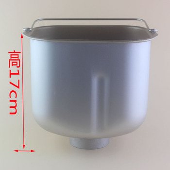 Bread barrel for DL-TM018 BM-1888 BM-1348 BM-1353F DL-T15A /4706W TM018W  Bread maker spare parts for buckets mystery bm 6118ub