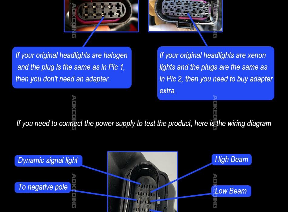AKD Car Styling for VW Golf 7 MK7 LED Headlight Golf75 R LINE