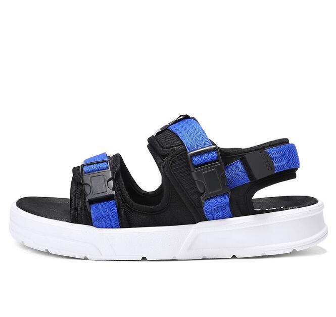 CavalryWalf Summer pu Leather Men Shoes Slippers Outdoor Flat Flip Flops Men Brand Slippers Men Beach Shoes Designer Sandals