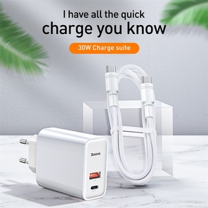 Image 2 - Baseus Quick Charge 4.0 3.0 Usb Charger Voor Iphone 11 Pro Max Samsung Huawei Scp QC4.0 QC3.0 Qc C Pd snelle Mobiele Telefoon Oplader