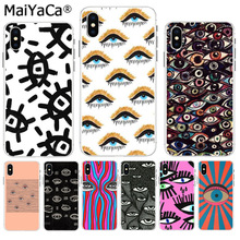 MaiYaCa Big eyes art High Quality phone Accessories cover for iPhone