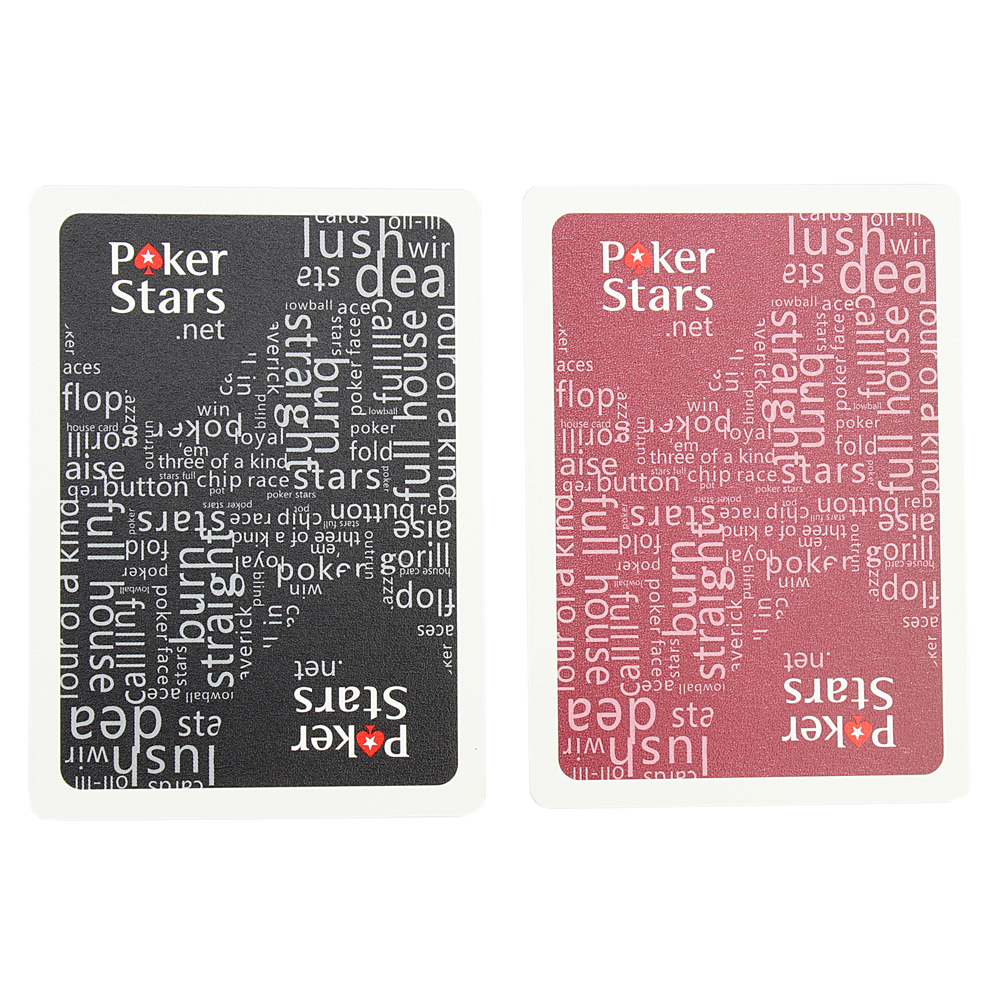 Texas Hold'em Plastic Playing Card Game Poker Cards Waterproof And Dull Polish Poker Star Board Games