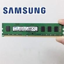 Samsung memória ram ddr3, memória ram de desktop 2rx8 4gb 1333 1600 mhz 240pin 4gb/8gb dimm 4g 8g 10600u 12800u 1333mhz 1600 mhz