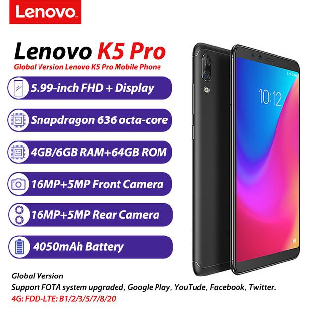 Lenovo K5 Pro 6GB+64GB Four Cameras