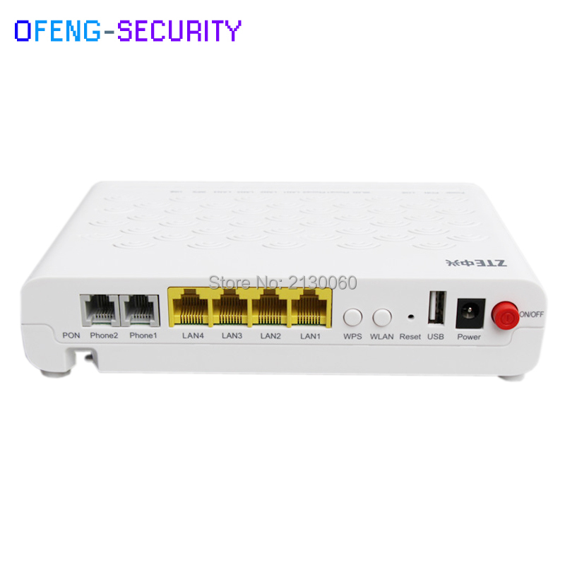 ZTE F660 660 GPON ONU ONT With 1GE+3FE+2POT+WIFI