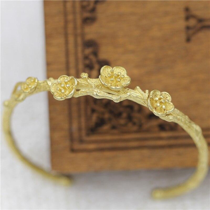 SONGLONG New Arrival women bracelet Design Cuff Bracelet High Quality Golden Plated Wedding Bracelet Girl's Banquet wholesale