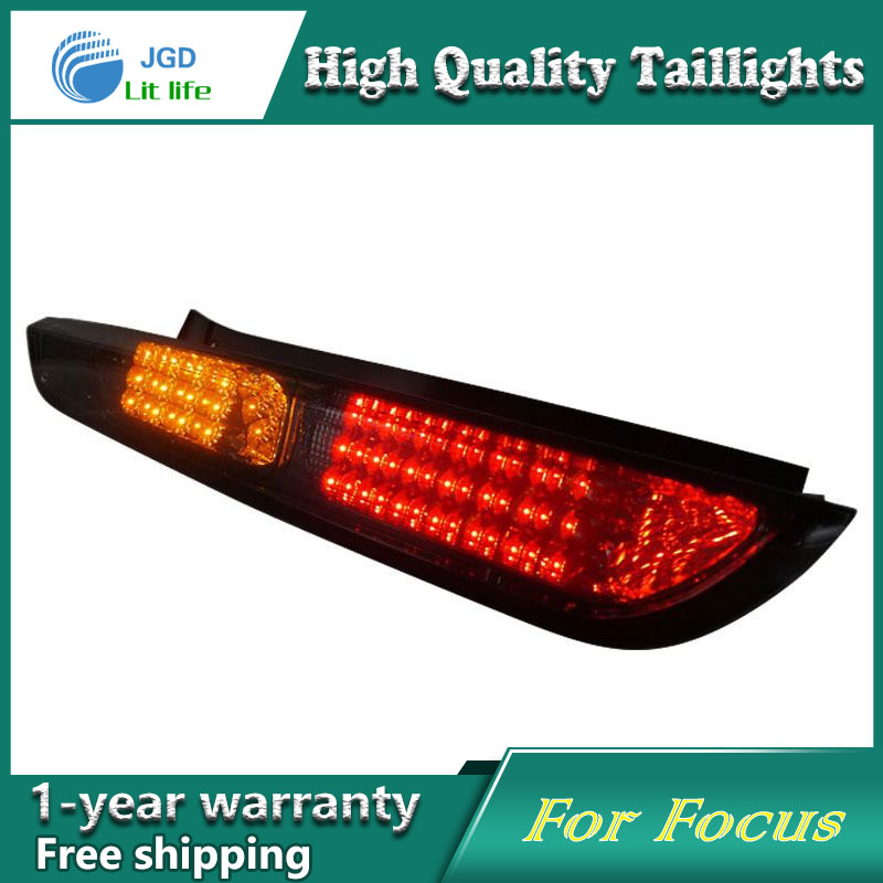 Car Styling Tail Lamp for Ford Focus 2009-2013 taillights Tail Lights LED Rear Lamp LED DRL+Brake+Park+Signal Stop Lamp car styling tail lamp for toyota prius taillights tail lights led rear lamp led drl brake park signal stop lamp