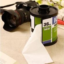 Cajas de pañuelos Portarrollos caja de pañuelos de papel de plástico con forma de revista creativa pegatina mágica soporte para papel higiénico