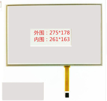 12.1 Inch Touch Screen industrial control industrial grade 12 inch 16:10 four wire resistive touch screen 275*178