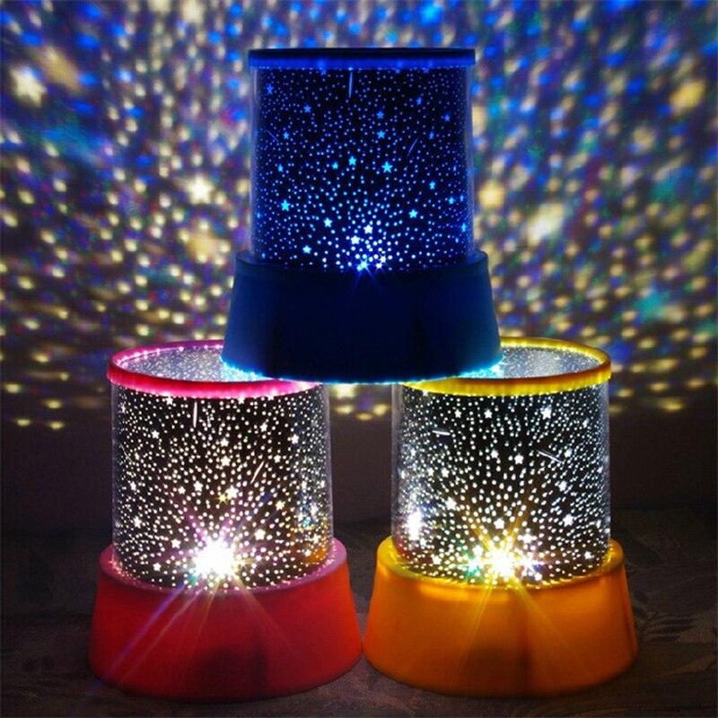 Светодиодные планетарий Ночные светильники Звездное небо Star Master проекция лампы проектора для детей Спальня для сна лампы внутреннего ...