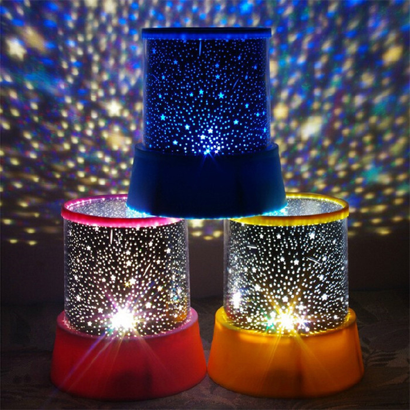 LED Planetarium Night Lights Starry Sky Star Master Projector Lamp  Projection For Kids Bedroom Baby Sleep
