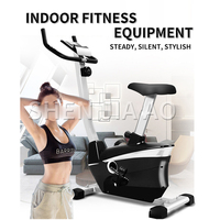 Indoor cycling bikes silent magnetic exercise bike lose weight LED display calories speed resistance mute home fitness bike hot