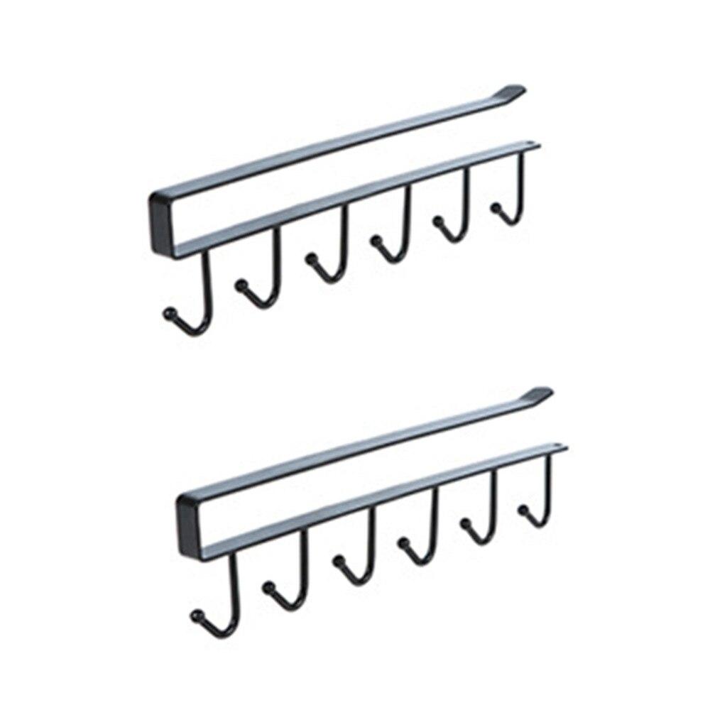 Stainless Steel Kitchen Storage Rack Cupboard Hanging Hook Shelf Dish Hanger Chest Storage shelf Bathroom Organizer Hook Holder