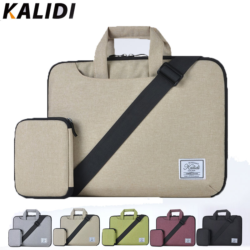 KALIDI Waterproof Shoulder Messenger Bag Travel Laptop Sleeve Netbook Cover Case Pouch for Macbook Air Pro Retina Dell XPS