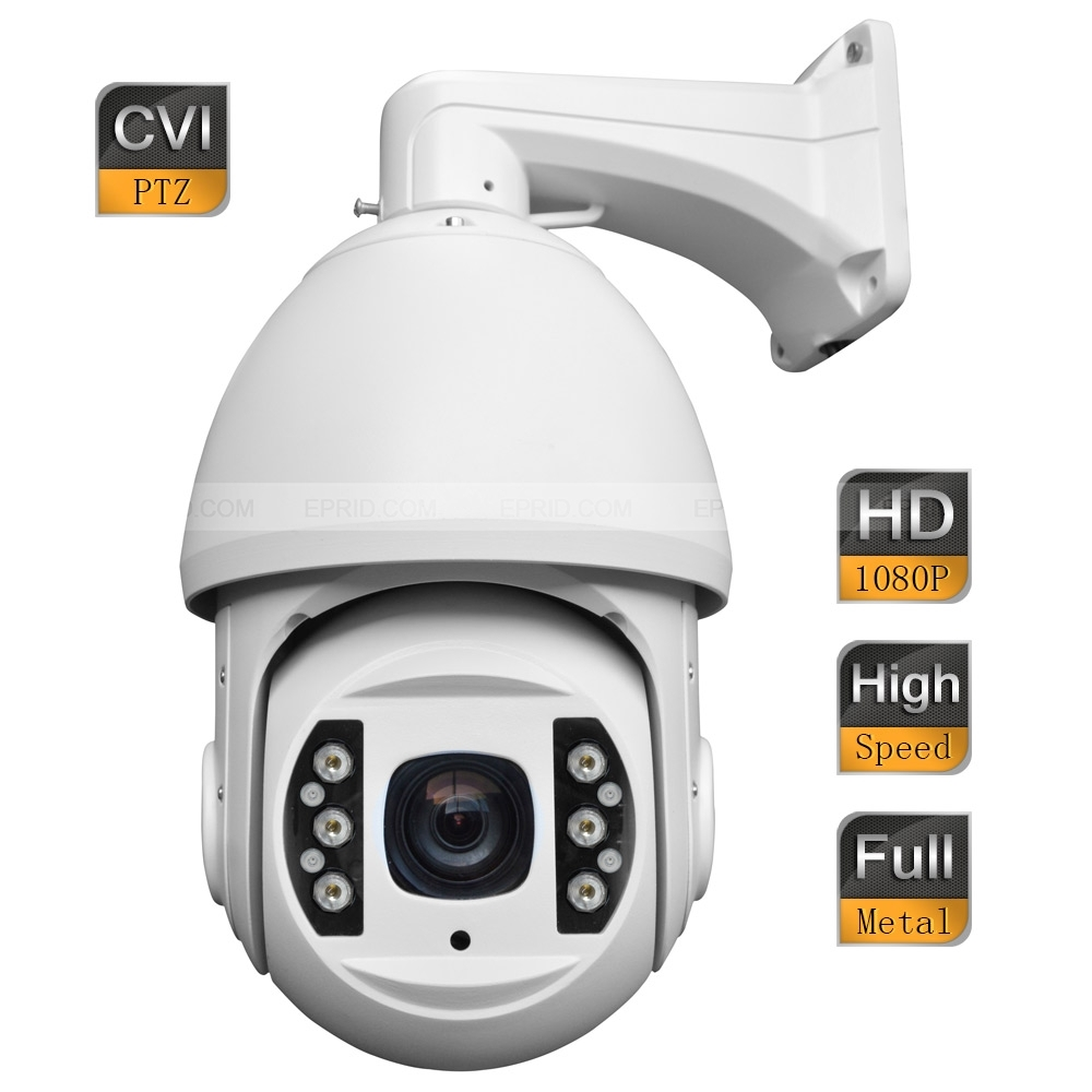 6 Security 2MP 1080P HD CVI High Speed IR Dome PTZ Camera 18x Optical Zoom Full Metal Shell noulei ballscrew support bk17 bf17 c3 linear guide screw ball screws end supports cnc