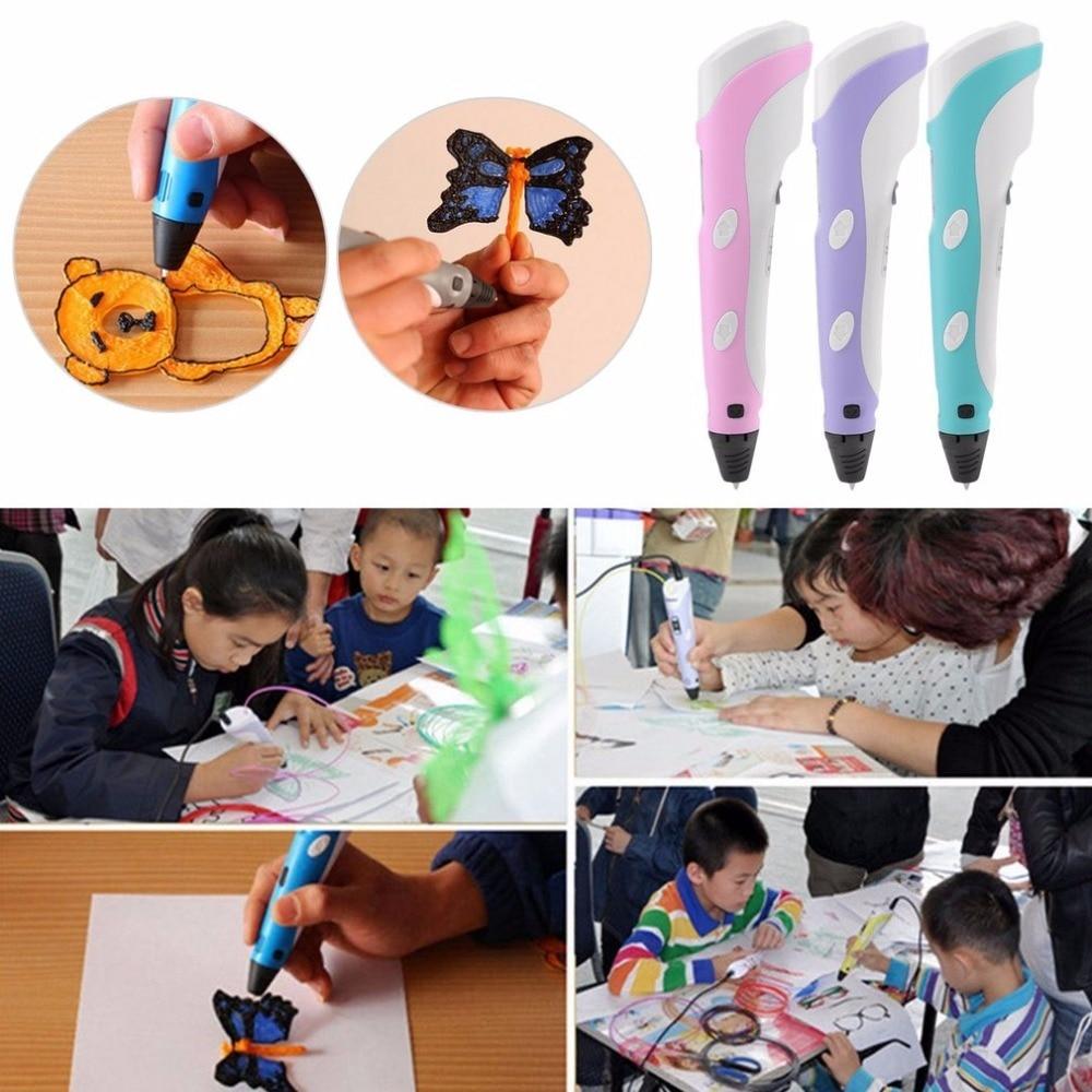 3d Pens poderoso plug ue presente de Size : 17.5*4.5*3cm