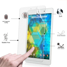 "Premium Anti-Glare Matte display protecting Movie For BQ EDISON Three mini eight.zero"" pill laptop matte Display screen Protector movie + clear cloths"
