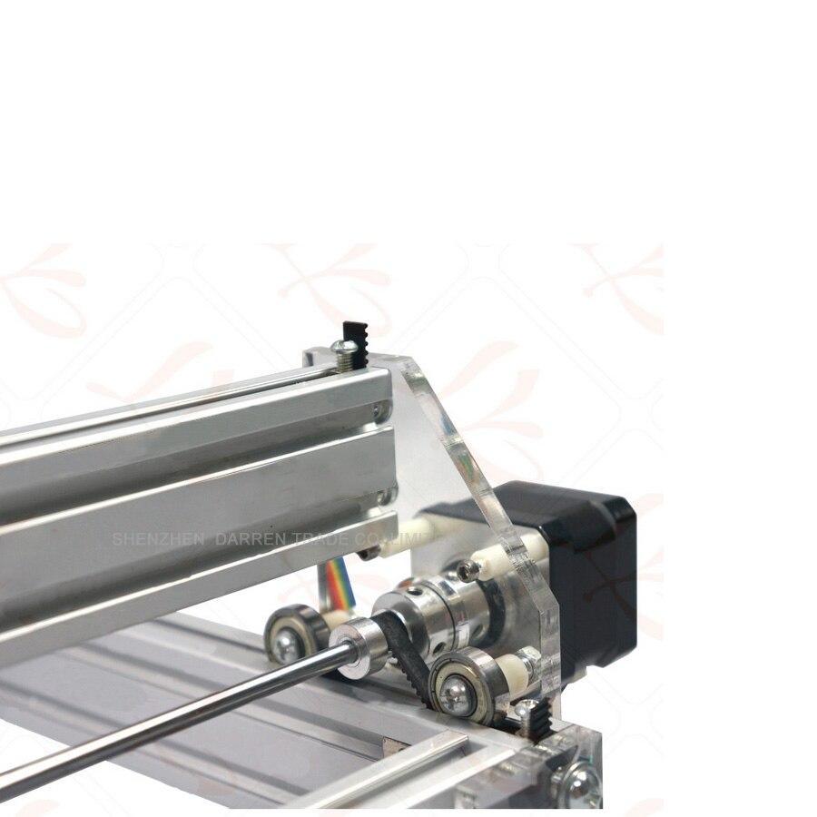 1 шт. 1,5 Вт DIY мини лазерная гравировка машина 1500 МВт Настольный DIY Лазерный гравер гравировальный станок картина принтер типа ЧПУ - 4