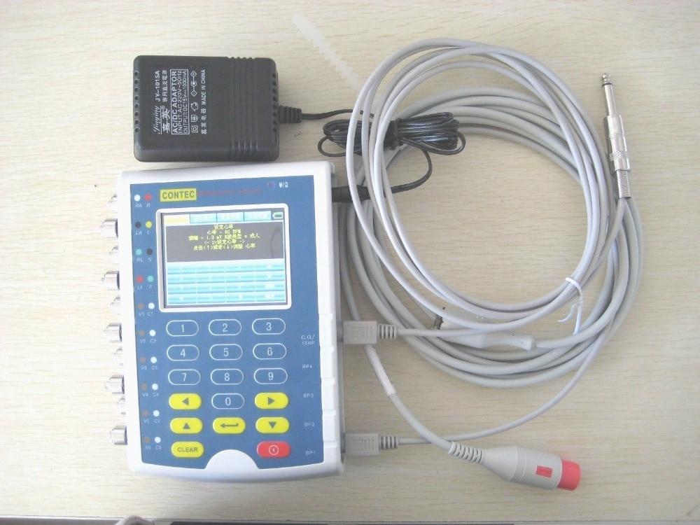 Fast Free Shipping CONTEC MS400 ECG Simulator Multi-Parameter Patient Signal Generator Patient Simulator skx 2000c ecg simulator ecg signal simulator signal generator 10 200bpm