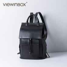 Viewinbox Marke Hochwertigen Rindspaltleder Frauen Rucksack F Rucksack Für Teenager Mädchen Casual Taschen Weiblichen Umhängetasche