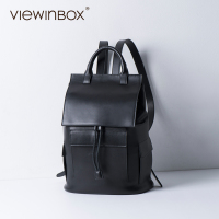 Viewinbox Brand High Quality Cow Split Leather Women Backpack F Backpack For Teenage Girls Casual Bags Female Shoulder Bag