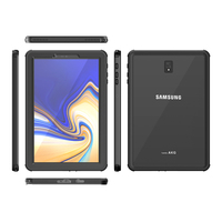galaxy s4 For Samsung Galaxy Tab S4 Case Shock Dirt Snow Proof Protection With Touch ID for Galaxy Tab S4 10.5 inch Cover Clear New (5)