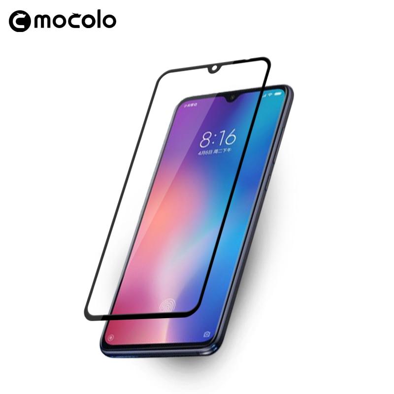 Mocolo Premium Protetor de Tela Anti-impressão digital Film Vidro para Xiaomi 9 9 SE Completa Cobertura para Xiaomi Vidro Temperado filme para CC9
