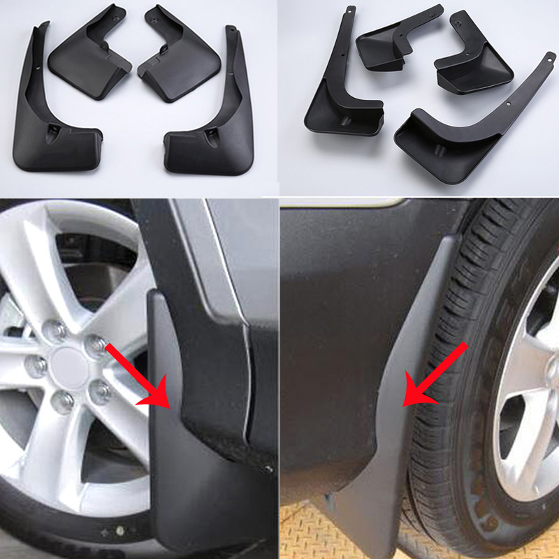 New Splash Guards Mud Flaps Fit For Toyota RAV4 2013 2014 2015