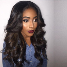 7A Loose Bouncy Wave Glueless Lace Front Wig Cheap Brazilian Virgin Hair Full Lace Human Hair Wigs For Black Women Baby Hair