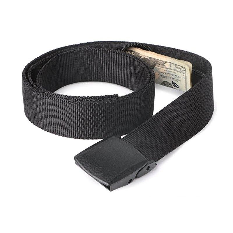 Travel Hidden Cash Money Belt Bag Anti Theft Waist Packs Pouch Wallet Fanny Bags Length 121cm